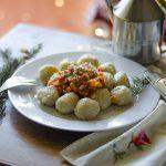 Wraps veganos de espinaca y soja texturizada